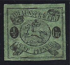 BRUNSWICK STAMP #6a --  1/2sgr LEAPING HORSE --1856 -- UNUSED