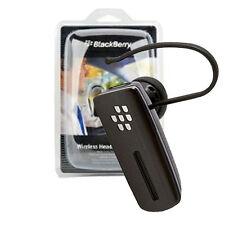 NEW Original OEM Blackberry Black HS500 HS-500 Bluetooth Headset Retail Package