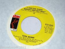 Veda Brown: Short Stopping / I Can See Every Woman's Man But Mine  [Unplayed]