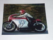 Signed Giacomo Agostini  10 x 8    Photo