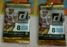 2016 DONRUSS*f/s 2-PACK-LOT*L@@K for ROOKIE AUTO's GOFF-WENTZ-ELLIOT-PRESCOTT*