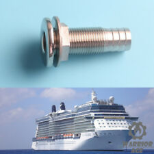 1/2'' Stainless Steel Boat Thru Hull Hose Pipe Tube Fitting Barb Cabin Marine