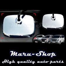 Chrome Tailgate Parking Rear View Mirror Cover Trim for 07+ Hyundai H-1/iLoad