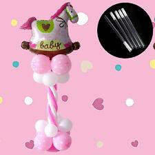 5x Plastic Sticks Pole For Balloon Arch Column Stand Wedding Birthday Decor