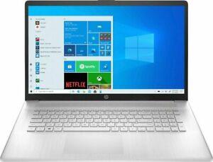 "NEW HP 17.3"" Laptop i5-1135G7 12GB Memory 512GB SSD webcam W10 17-cn0033dx #22"