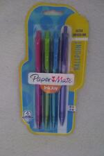 Paper Mate Inkjoy Ultra Smooth Ink Ballpoint Pen 4 Assorted Colors New