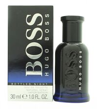 HUGO BOSS BOSS BOTTLED NIGHT EAU DE TOILETTE 30ML SPRAY - MEN'S FOR HIM. NEW
