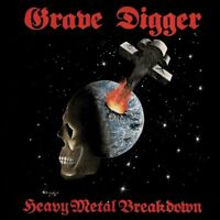 GRAVE DIGGER - HEAVY METAL BREAKDOWN   CD NEW