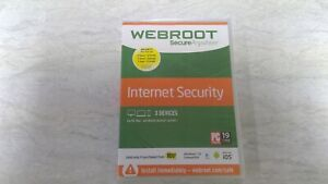WEBROOT ANYWHERE INTERNET SECURITY ANTIVIRUS PC MAC & MOBILE ANDROID iOS