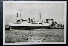 Southern Railway  Dover Dunkirk  Train Ferry     Vintage Photo Card  VGC