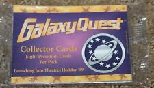 GALAXY QUEST COLLECTOR CARDS 8 PREMIUM CARDS PER PACK promo promotional
