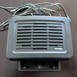 Original Yaesu Vertex MLS-100 12W External Radio Speaker w/ Bracket