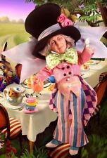THE MAD HATTER Alice in Wonderland NEW Barbie Collector Silver Label Doll 2007