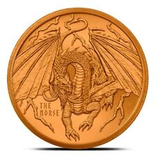 1 oz Copper Round - The Norse | World of Dragons Series Pre-Order