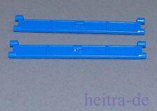 LEGO - 2 x lamelle avec poignée bleu/Garage/porte de Garage/porte industrielle/4219 article neuf