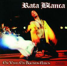 RATA BLANCA En vivo en Buenos Aires CD ORIGINAL imp!
