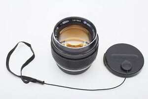 Olympus Zuiko Auto-S 55mm F1.2 OM Manual 55/1.2 Prime 50 Lens+SUPER FAST+GREAT