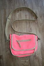 ORANGE CROSS BODY BAG FROM CLAIRE'S VERY GOOD CONDITION