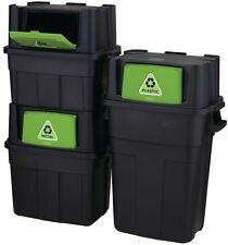 Rubbermaid 20.5-Gallon Kitchen Trash Can Recycling Waste Stackable Garbage Bin