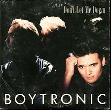 BOYTRONIC - DON'T LET ME DOWN - CARDBOARD SLEEVE CD MAXI