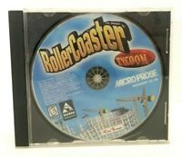 RollerCoaster Tycoon (PC, 1999) - Missing Manual - Original Case