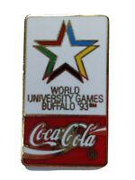 1993 Coca Cola World University Games Buffalo NY Collectors Pin