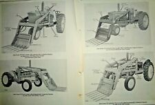 John Deere 35 Farm Loader Parts Catalog Manual Original! (fits 40-3010 tractors)