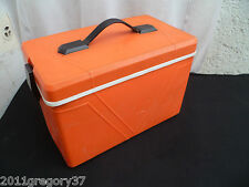 Petite GLACIERE Vintage 70 's Plastique Selup Pop Orange