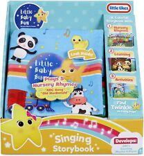 Little Tikes Little Baby Bum Singing Storybook