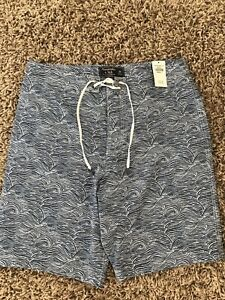 """Abercrombie & Fitch Shorts / Swim Shorts BRAND NEW WITH TAGS 30"""" Waist"""