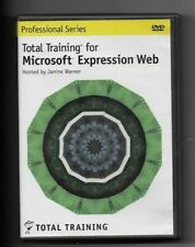 PROFESSIONAL SERIES TOTAL TRAINING FOR MICROSOFT EXPRESSION WEB DVD