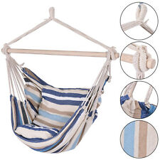 Deluxe Hammock Rope Chair  Porch Yard Tree Hanging Air Swing Outdoor