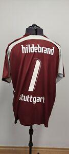Puma VfB Stuttgart Mens Football Shirt 2006 2007 Goalkeeper Kit HILDEBRAND XXL