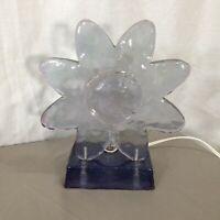 Vintage Resin Flower Night Light Lamp