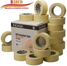 "48mm (2"") INDASA MTE High Quality Masking Tape Low Bake 50m Protect (5 rolls)"