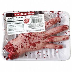 Severed Hand Fake Bloody Decoration