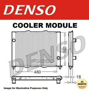 Cooler Module for RENAULT CLIO II 1.5 dCi 2001->on