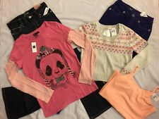 2b688e7b06e7 Nwt girls sz 12 slim Justice, Gap Kids Panda Shirt, Old Navy 5 piece