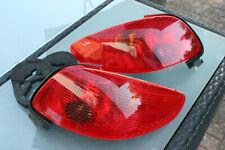 Rückleuchten Heckleuchten Set links & rechts rot für Peugeot 206 CC 2D