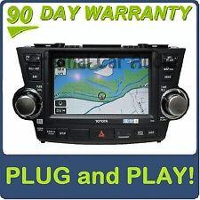 NEW TOYOTA Factory JBL Navigation GPS Bluetooth Radio AM FM XM MP3 and CD Player