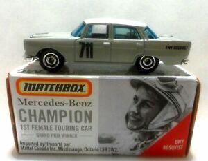 Matchbox 1962 Mercedes-Benz 220 SE Sedan Mint in Box