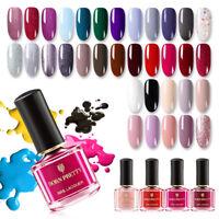 BORN PRETTY Original Nail Polish Top Coat Colors Farben Nagellack 6ml Maniküre