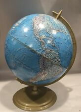 "Mid Century Vintage Cram Enviro-Sphere 12"" World Globe"