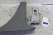 2003-2006 MAZDA 6 LEFT DRIVER CENTER PILLAR TRIM MOLDING COVER GRAY seat belt