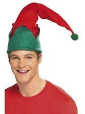 Cappello da elfo natalizie uomo ACCESSORIO VESTITO NATALE Giorno ELFI