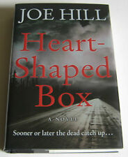 Joe Hill HEART-SHAPED BOX Signed and Dated 1st