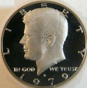1979 S Kennedy Half Dollar Type 1 Gem Cameo Proof US Coin from US Proof Mint Set