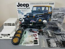 Partial Built Tamiya 1/10 R/C Jeep Wrangler CC-01 Chassis + ESC+ LED Light Unit