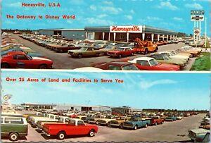 Postcard Haney Chevrolet Automotive Car Dealership in Orlando, Florida~4102