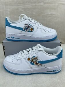 Nike Air Force 1 Low Hare Space Jam Lola UNC GS Size 5Y Women's 6.5 DM3353-100